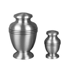 Mercury - Pewter Silver with Three Bands (Adult)