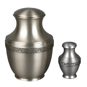 Patrician - Brushed Silver with Pewter (Adult)