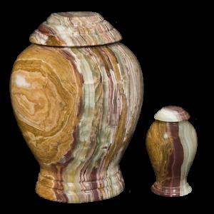 Green Onyx Pedestal - Green Onyx Pedestal Vase (Adult)