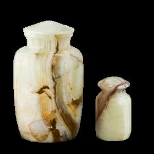 Avila White Onyx - White Onyx Vase (Adult)