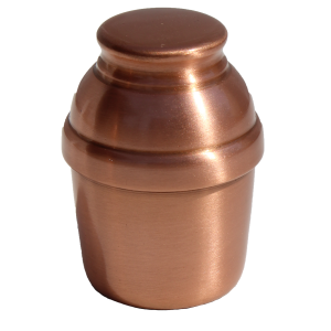 Copper Cremation Keepsake Urn 707