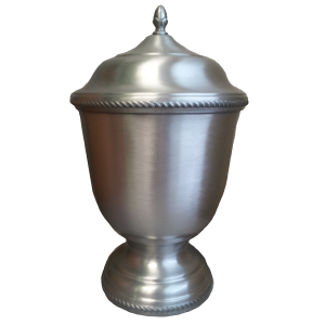 Aegis Large Pewter Creamation Urn 402