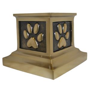 Roman Paws - Antique Bronze Pet Urn