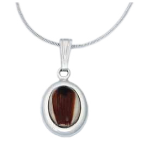 Small Oval Pendant - Pet