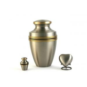 Grecian Pewter Adult Urn