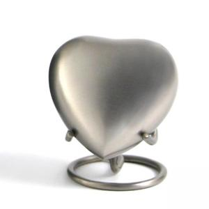 Classic Pewter Heart Keepsake with Velvet Box