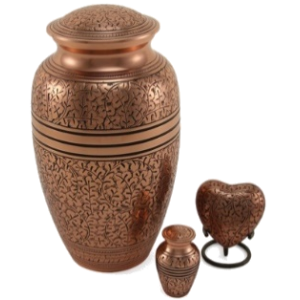 Copper Oak Adult Urn