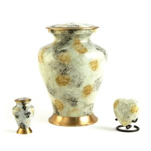 Glenwood White Marble Adult Urn