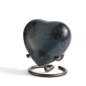 Glenwood Gray Marble Heart Keepsake