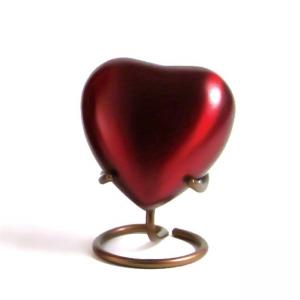 Grecian Crimson Heart Keepsake