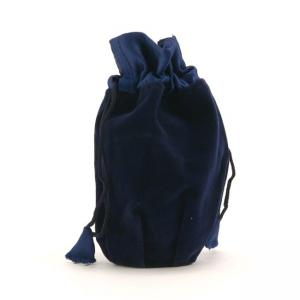 Large Sapphire Velvet Keepsake Urn Bag