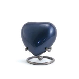 Trinity Moonlight Blue Heart Keepsake
