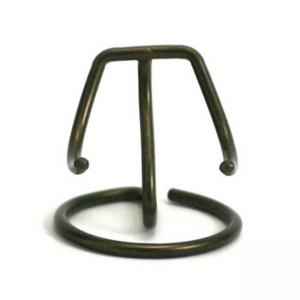 Pet Antique Bronze Finish Heart Display Stand