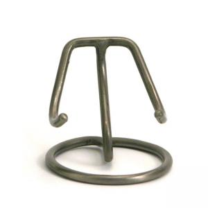 Pet Pewter Finish Heart Display Stand