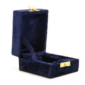 Indigo Velvet Keepsake Box