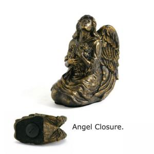 Serenity Angel Antique Bronze Finish Keepsake