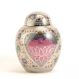 Lotus Heart Small Pet Urn