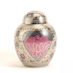 Lotus Heart Extra Small Pet Urn
