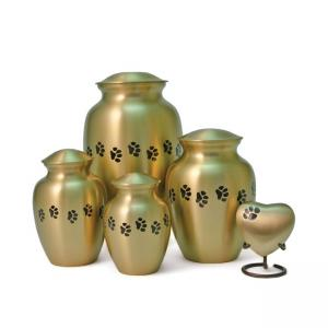 Classic Paws Bronze Extra Small Pet Urn