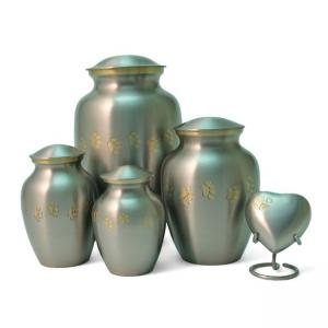 Classic Paws Pewter Extra Small Pet Urn