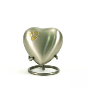 Classic Paws Pewter Heart Keepsake