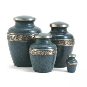 Avalon Evening Blue Medium Pet Urn