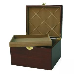 Paw Print Memory Chest Small Pet Urn