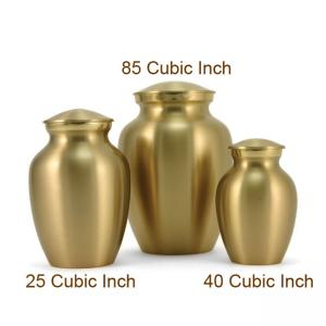 Classic Pet Brass Small Urn