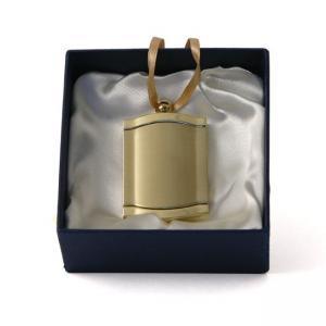 Gold Frame Urn Pendant