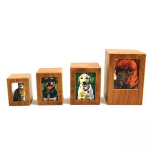 MDF Natural Photo Small Pet Urn