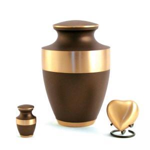 Lineas Rustic Bronze Adult Urn
