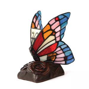 Blue Butterfly Lamp Keepsake Urn