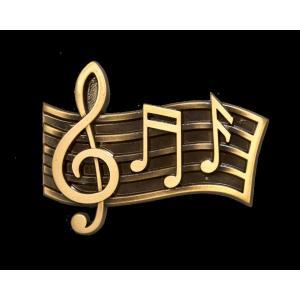 Musica - Bronze Music Scale