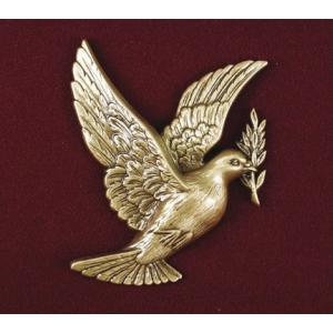 Peace - Bronze Dove with Laurel