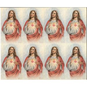 Sacred Heart of Jesus- 8 UP