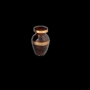 Heirloom II Token - Brown Leathertone with Band