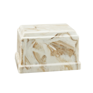 Centurian IV - Rectangle, Creme with Tan Vein (Adult)