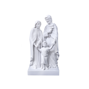 Holy Family - Marble Statue, Holy Family