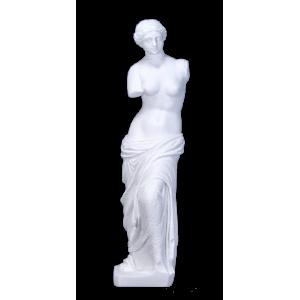 Venus de Milo - Sculpted Venus de Milo on Pedestal / Twist Closure
