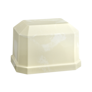Navarro I - Rectangle with Beveled Edge, Creme with White (Adult)