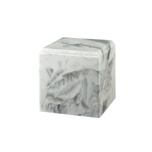 Regal II - Cube, White with Grey