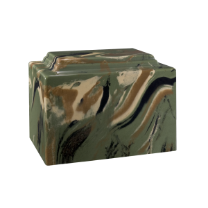 York VII (Camo) - Rectangle, Green/Tan/Black (Adult)