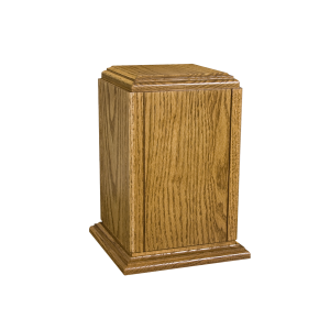 Sherwood II - Vertical Oak with Accent Groves & Base (Adult)