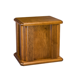 Jefferson Plain - Oak Urn w/Grooved Columns (Adult)