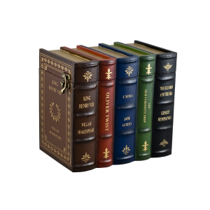 Book Set Urn – Set of 5 Books w/Titles (Adult)