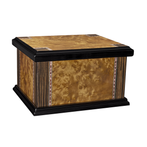 Sundown - Lacquered Two-Toned Wood Chest w/Inlay (Adult)