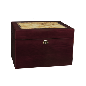 Markham - Lacquered Lockable Wood Chest (Adult)
