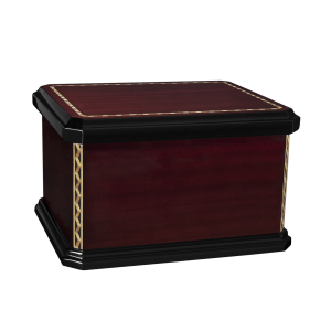 Mission - Lacquered Wood Chest w/Inlay (Adult)