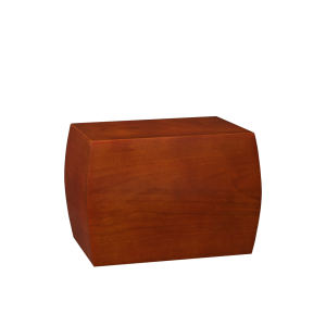 Convex - Curved Cherry Chest (Adult)