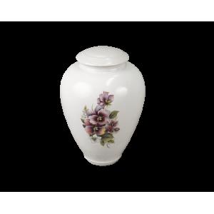 Tivoli I - Classic Vase with Pansy